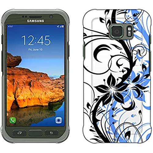 Samsung Galaxy S7 Active Case, Snap On Cover by Trek White Branch With Grey Shadow Slim Case Sales