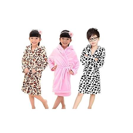 65f4af82cf89a child Bathrobe Cartoon bath towel towel pajamas Home gift four ...