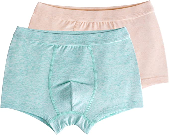 Cotton Youth Underwear Youper Boys Compression Brief with Soft Athletic Cup 2-Pack