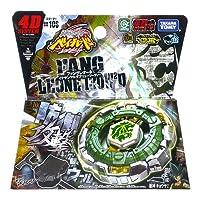 Beyblade Fang Leone (évolution de Rock Leone) - Version officielle intégrale avec lanceur LL2 - Troisième saison Beyblade Metal Fury 4D