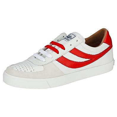 aa531877bdeff Superga 2846 Leau Mens Trainers White Red - 9 UK: Amazon.co.uk ...