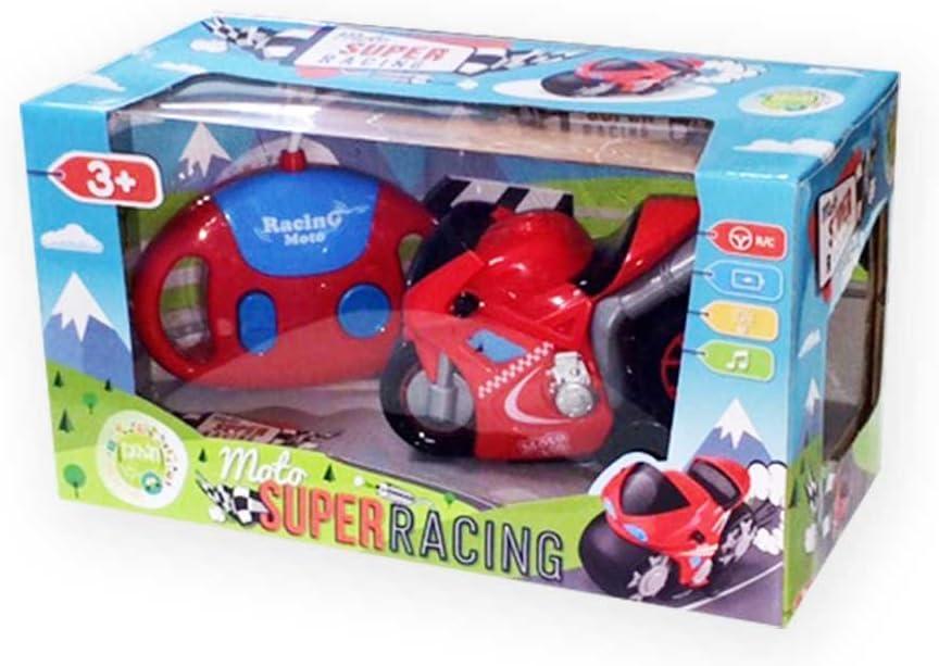 Cpa Toy Group 0616 Tachan radiocomandata Moto per Bambini