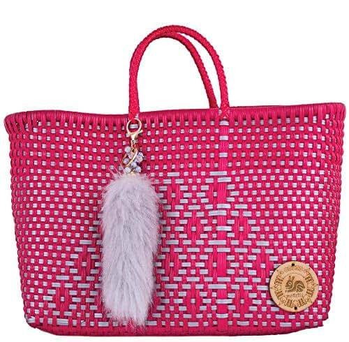 Amazon.com: METZTLI-RED BAG: Handmade