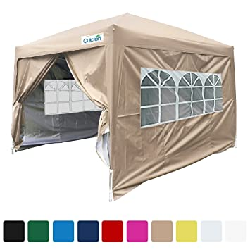 Quictent Silvox 8x8u0027 EZ Pop Up Canopy Gazebo Party Tent With Carry bag Waterproof-  sc 1 st  Amazon.com & Amazon.com : Quictent Silvox 8x8u0027 EZ Pop Up Canopy Gazebo Party ...
