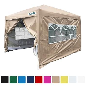 Quictent Silvox 8x8u0027 EZ Pop Up Canopy Gazebo Party Tent With Carry bag Waterproof-  sc 1 st  Amazon.com & Amazon.com : Quictent Silvox 8x8u0027 EZ Pop Up Canopy Gazebo Party ...