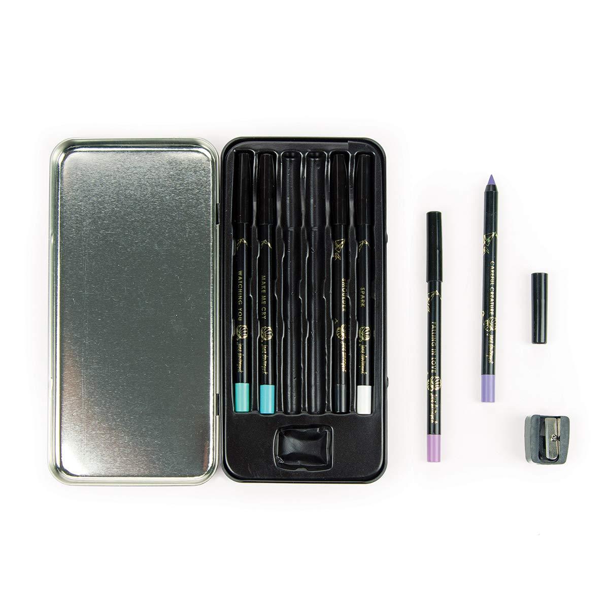 Spellbinders JDM-033 DramaStick Waterproof Pencil Crayons Ocean Eyes