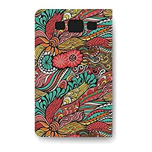 Leather Folio Phone Case For Samsung Galaxy S3 Leather Folio - Colors in Flight PU Leather Wrap-Around