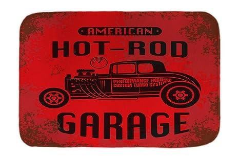 Cama Perro Nostalgic Retro Coche Hot Rod impreso 40x60 cm