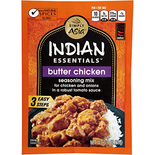 Simply Asia Indian Essentials Butter Chicken Seasoning Mix, 0.9 oz