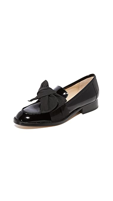 50268ddf33b Amazon.com  botkier Women s Violet Bow Loafers  Shoes