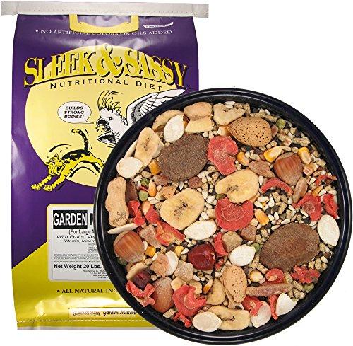 Sleek & Sassy Garden Macaw Parrot Food (20 lbs.)