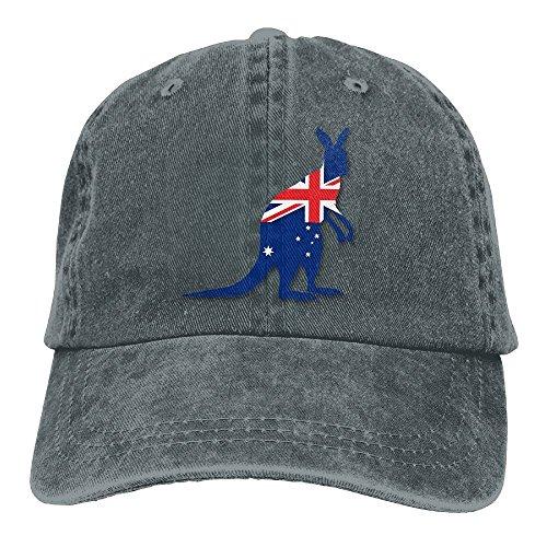 Arsmt Flag Of Australia With Kangaroo Denim Hat Adjustable Men Mini Baseball - Chicago Snapback Australia Bulls