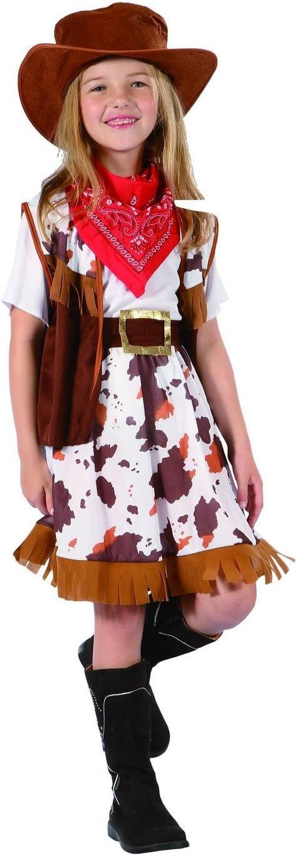 Disfraz vaquera niña - 7 - 9 años: Amazon.es: Juguetes y juegos