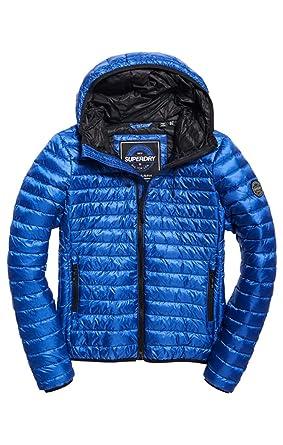 Superdry Core Down Hooded Jacket, Chaqueta Deportiva para Mujer: Amazon.es: Ropa y accesorios