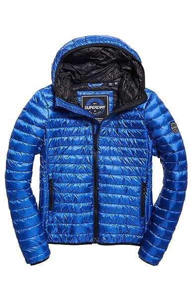 Superdry Women S Core Down Hooded Jacket Long Sleeve Sports Jacket
