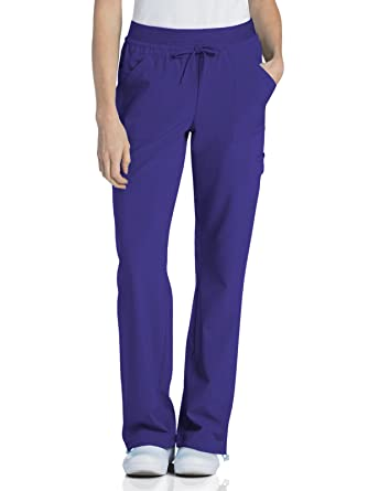 2e6ed81609b Urbane Performance 9324 Quick Cool Knit Waist Cargo Jogger Scrub Pant  African Violet XST