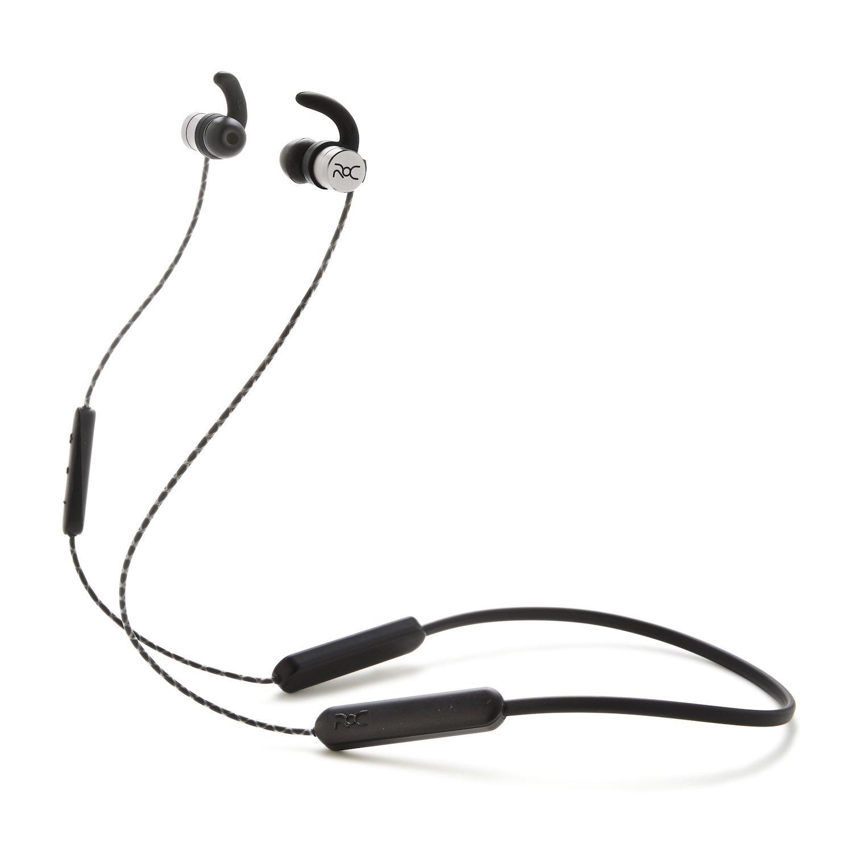 ROC Wireless Bluetooth Earbuds Silver (Model II - Silver)