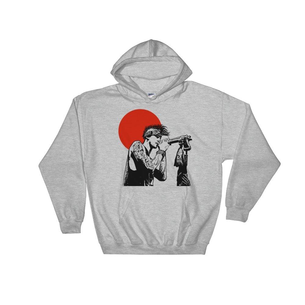 Babes Gents Machine Gun Kelly Mgk Grey Unisex Shirts