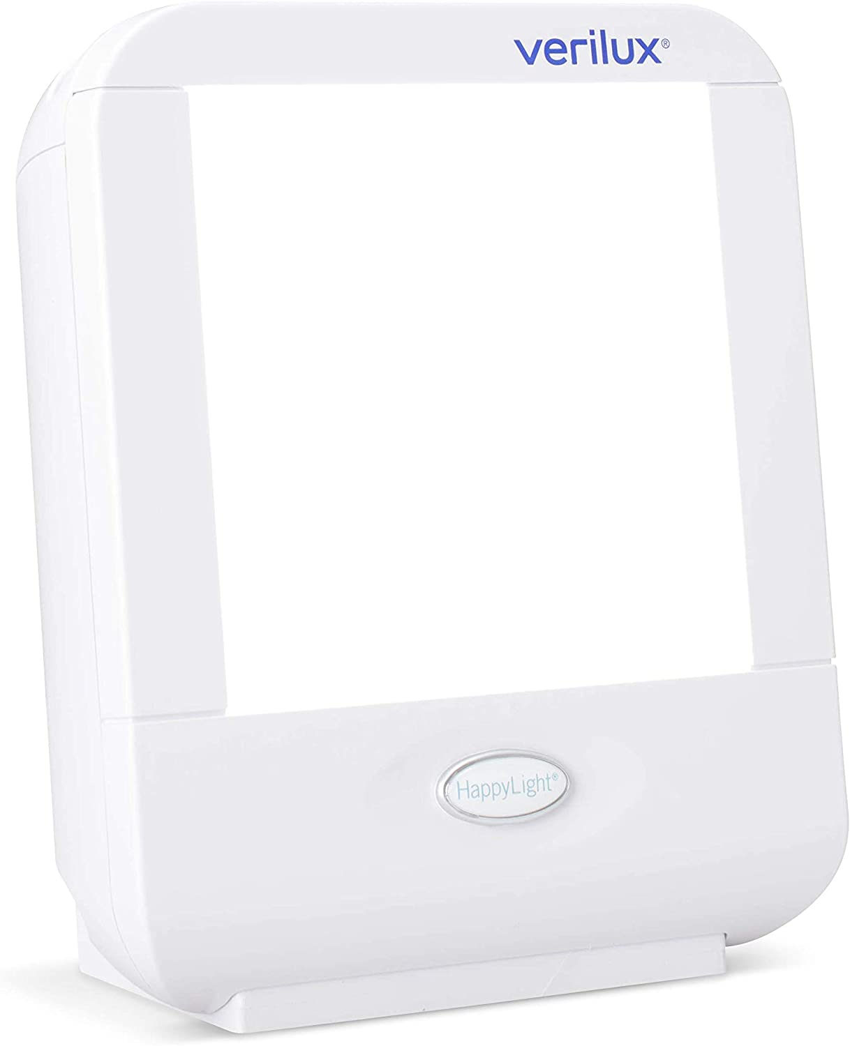 Verilux HappyLight VT10 Compact Personal, Portable Bright White Light 10,000 Lux Therapy Lamp with 20 sq. in. Lens Size: Health & Personal Care