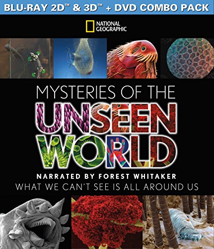 Mysteries of the Unseen World 3D (Blu-ray / DVD Combo) (Top 100 Best Documentaries)