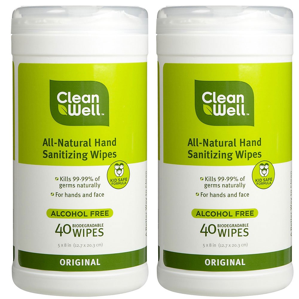 Amazon Com Cleanwell All Natural Disinfecting Wipes With