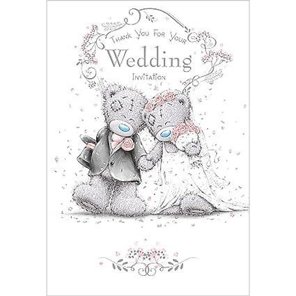 amazon com shop inc me to you bear thank you wedding invitation