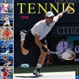 img - for Tennis The U.S. Open 2018 Wall Calendar: The Official Calendar of the United States Tennis Association book / textbook / text book
