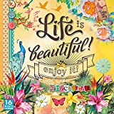 Life is Beautiful 2019 Wall Calendar, 12 x 12, (CA-0431)