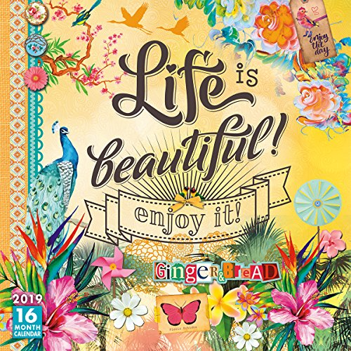 Life is Beautiful 2019 Wall Calendar