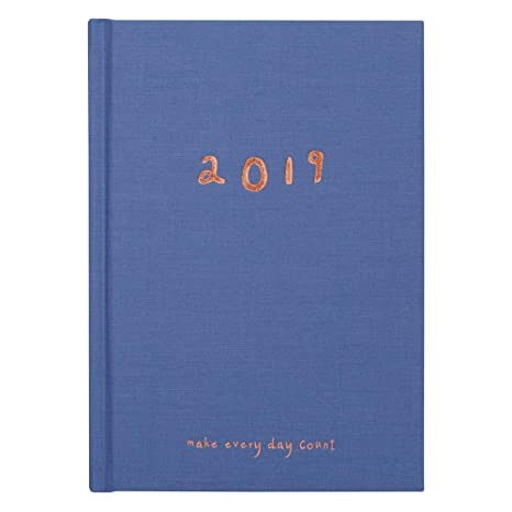 Amazon.com : kikki.K 2019 A5 Cloth Weekly Diary: Sweet, 1 ...