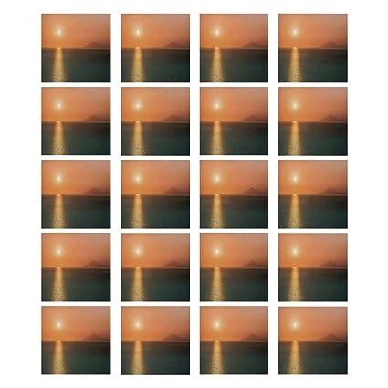 Amazon Com Burnt Orange 3d Ceramic Tile Stickers 20 Pieces