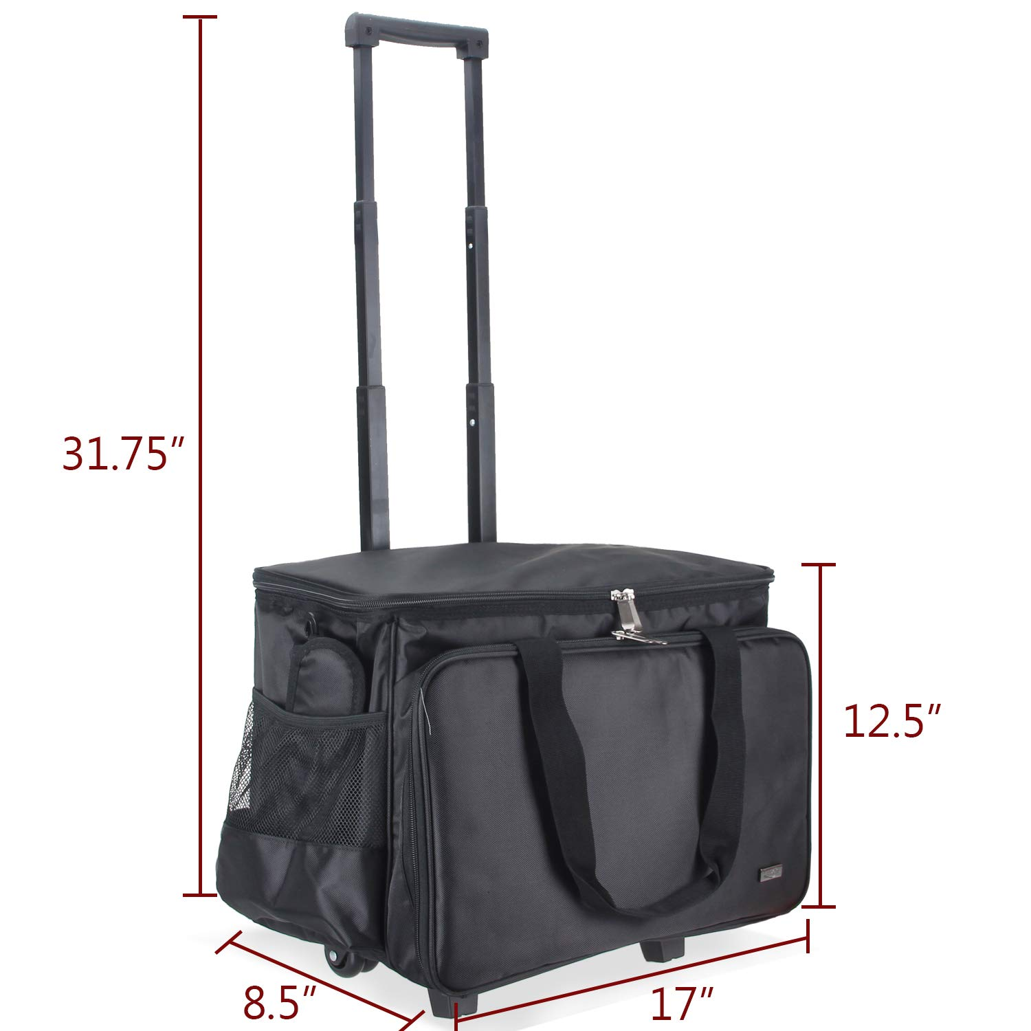 7cafadaf7d97 Luxja Sewing Machine Carrying Bag, Tote Bag for Sewing Machine and ...