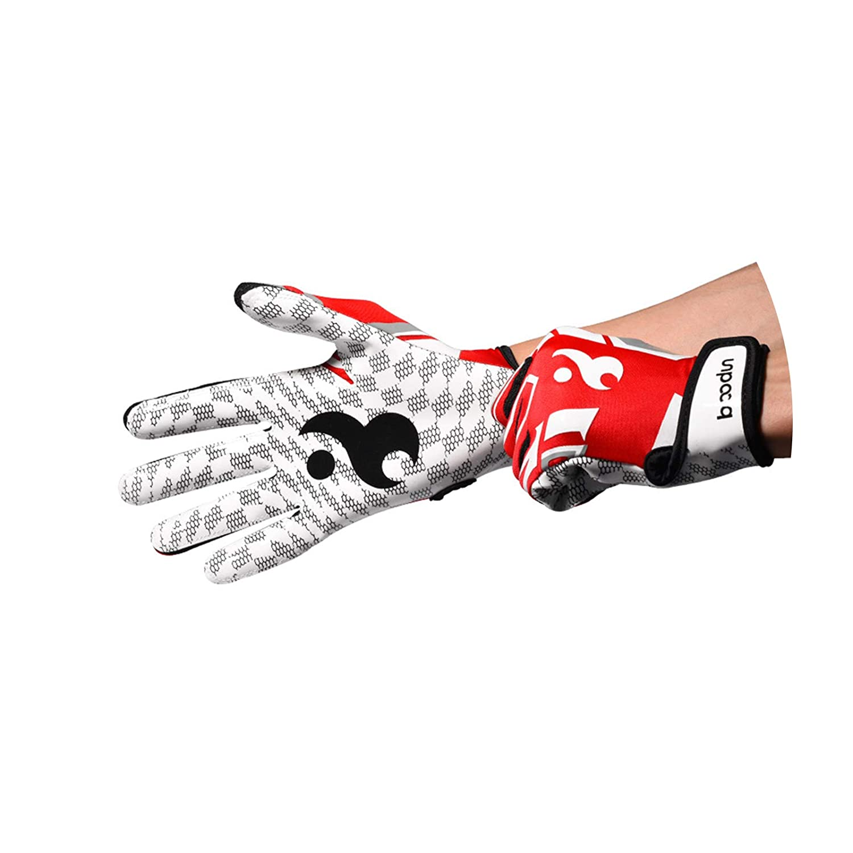 Adisaer Baseball Handschuhe Sporthandschuhe Komfortable Atmungsaktive Silikon Rutschfeste Baseball Handschuhe Größe