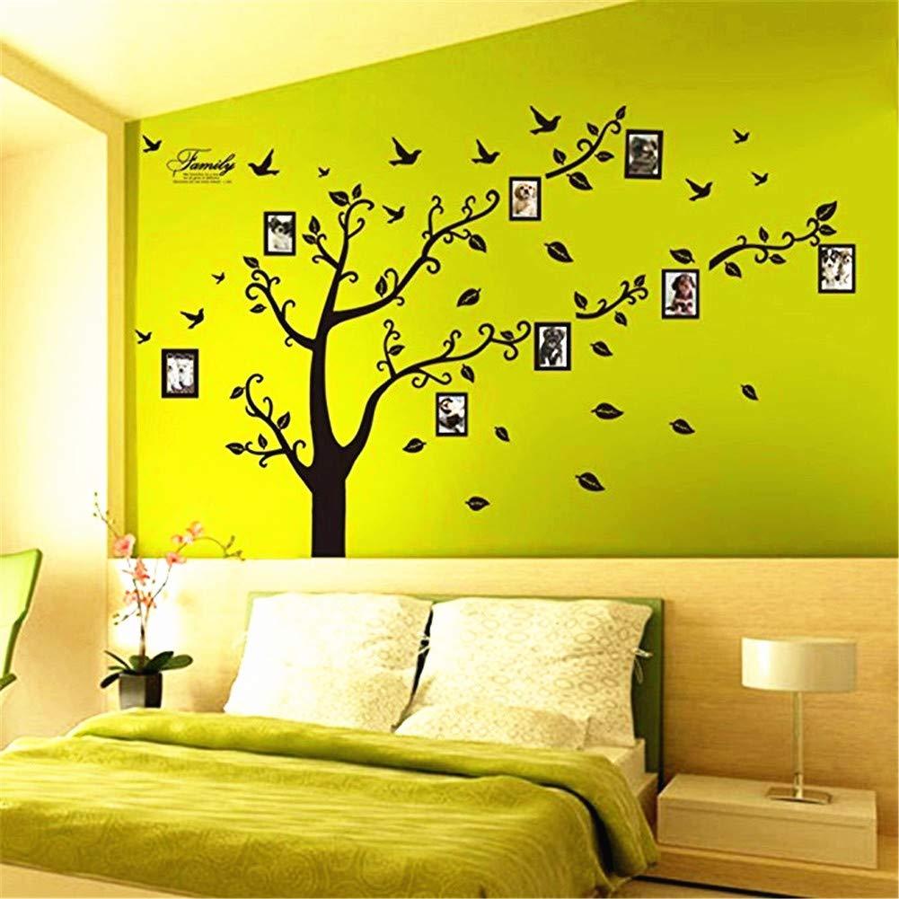 Amazon.com: Zhiyu&art decor MT Family Tree Photo Frame Decals ...