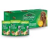 DOG CHOW Alimento Húmedo Cachorros Pollo, Paquete con 20 Pzas de 100g