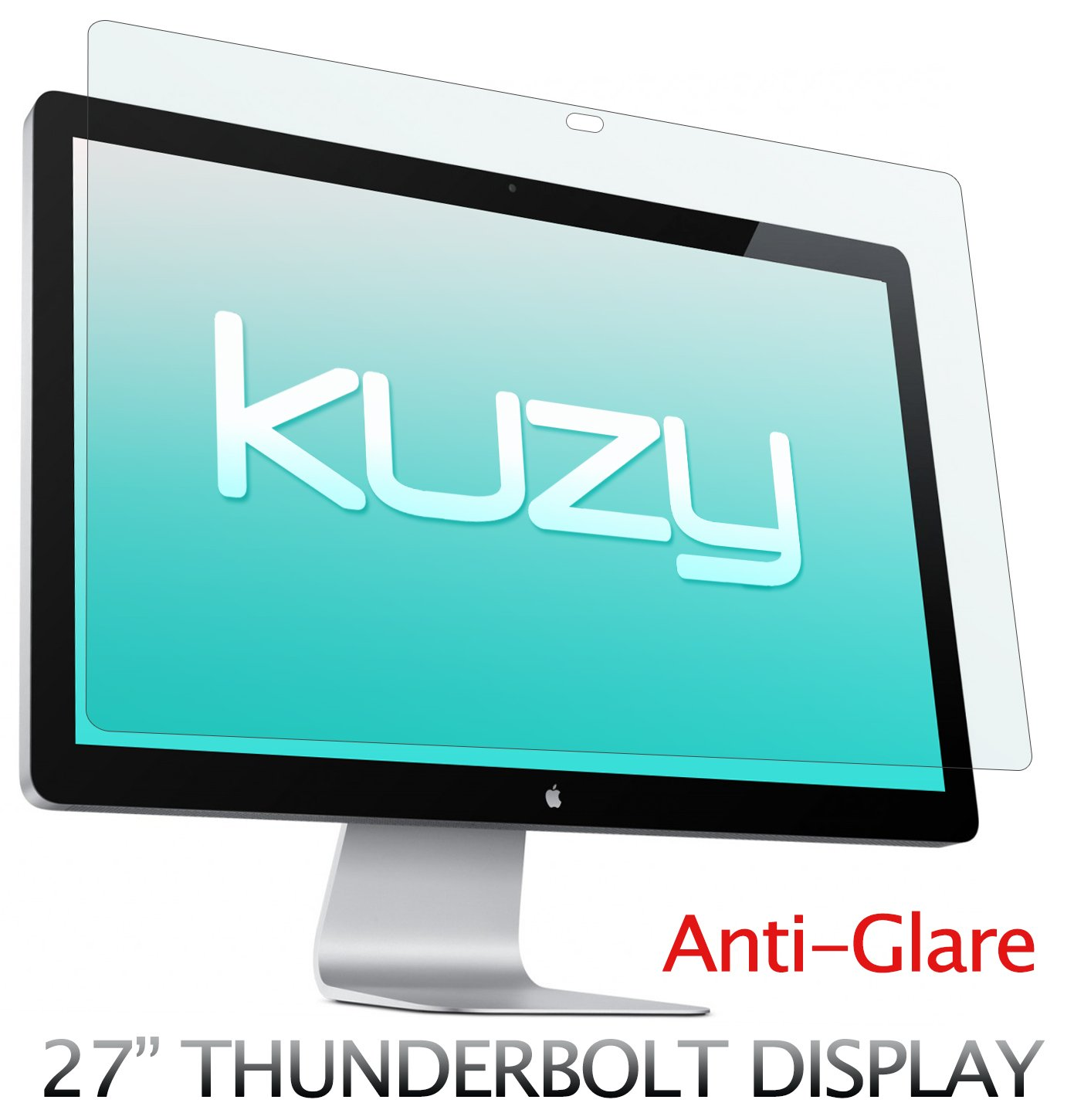 Kuzy - Anti-Glare Matte Screen Protector Filter for 27 inch Apple Thunderbolt and/or Cinema Display 27'' Model A1407 and A1316 - ANTI-GLARE by Kuzy
