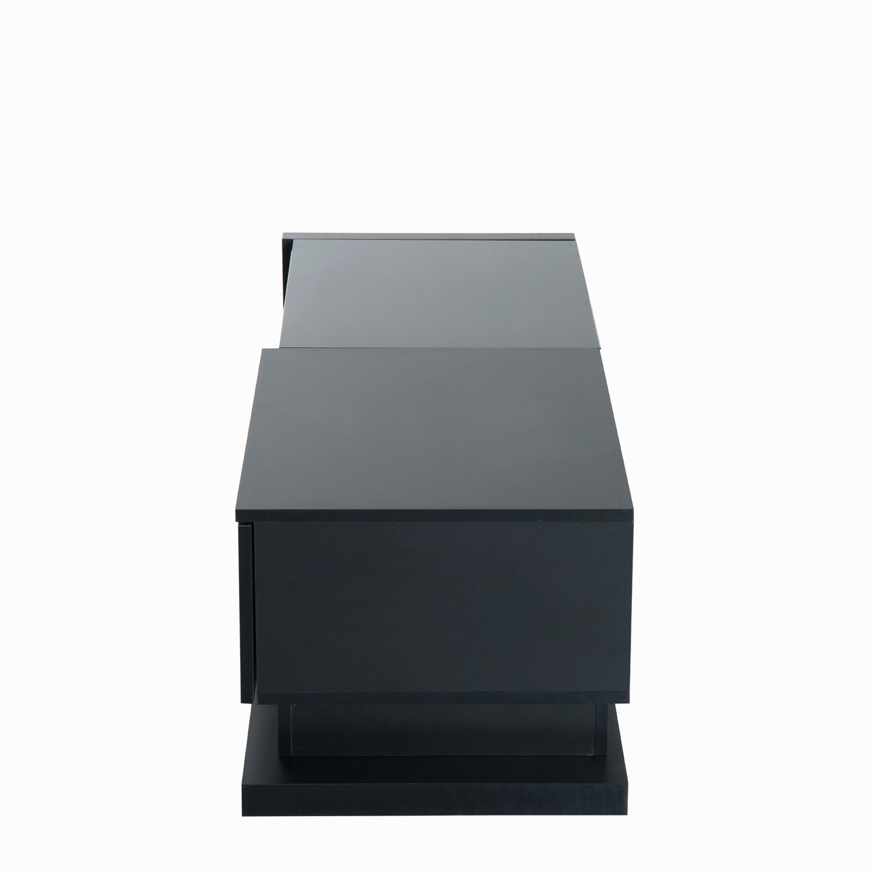 HomCom 51'' Modern TV Stand Media Center - Black by Overstock (Image #5)