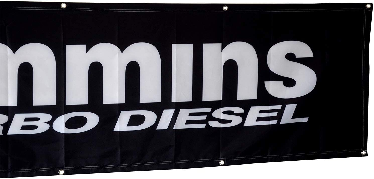 Cummins Banner Flag Turbo Diesel Engine 3X5FT banner US Shipper