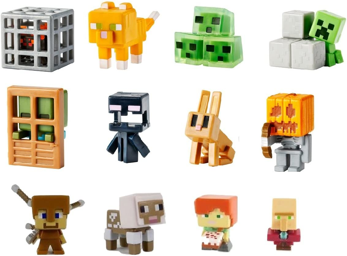 Mine Craft Collectible Mini Figures Dig In Series 4 Sheared Sheep