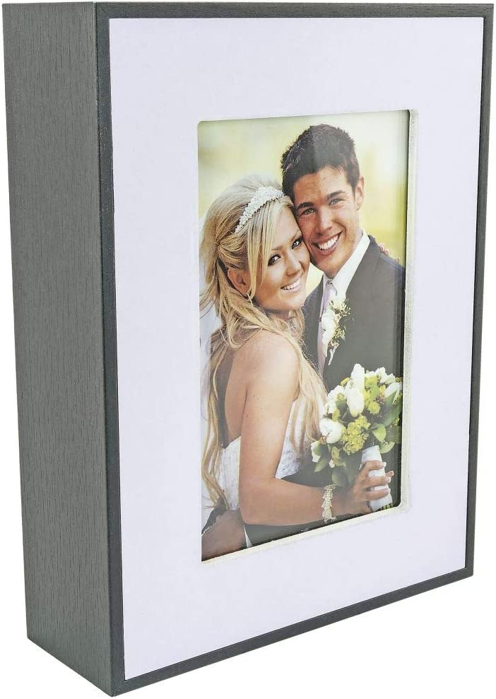 Southern Homewares Photo Frame Diversion Safe - Decoy Picture Holder for Home Security