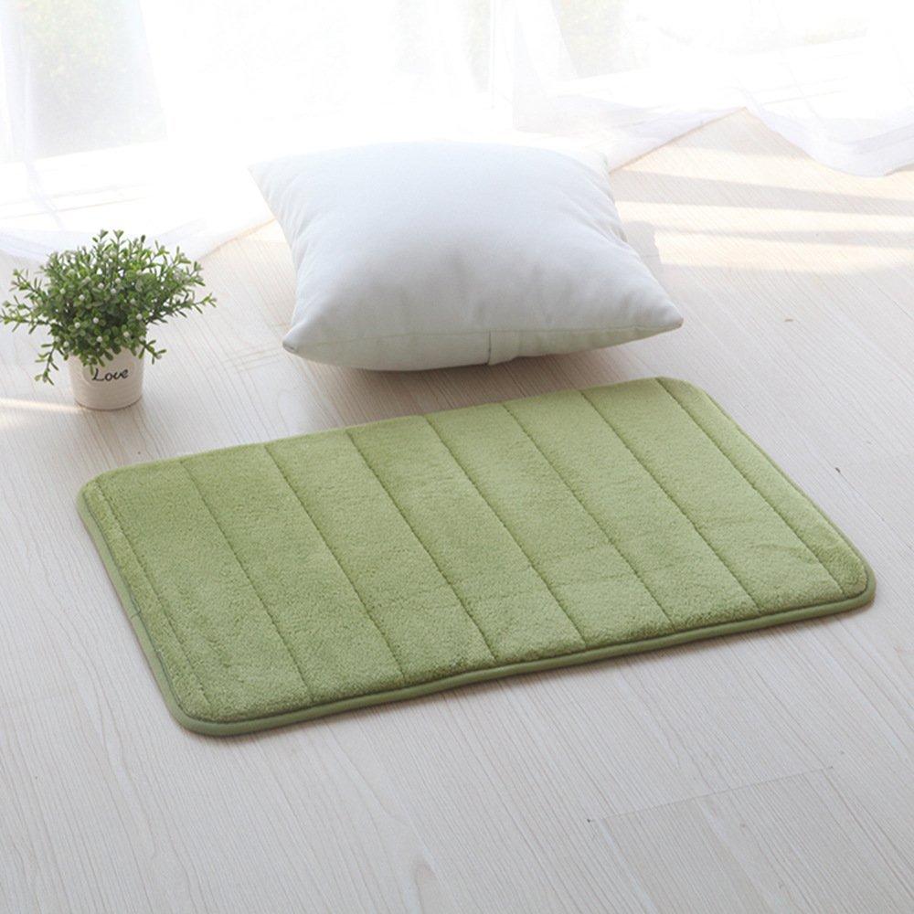 assorbente 40 x 60 cm Verde Tappetino da bagno antiscivolo LiGG
