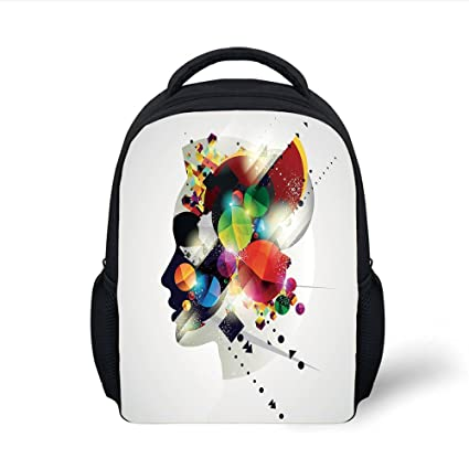 Amazon.com  iPrint Kids School Backpack Abstract 5b047f201ed9d