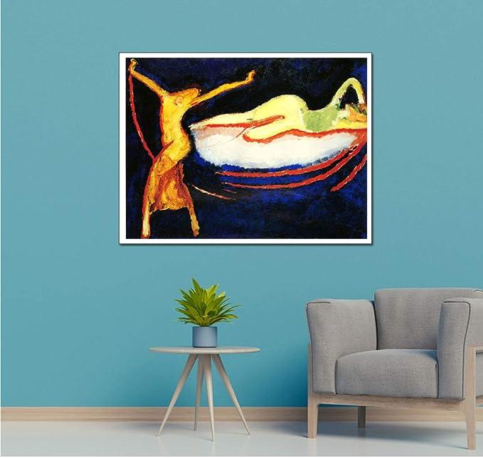 adgkitb canvas 40x60cm SIN marcoParis Cafe Decoración para el ...