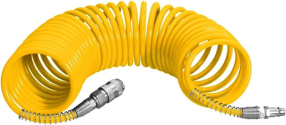 Proteco-set doutils air comprim/é-compresseur tuyau en spirale pour compresseur 3 pi/èces