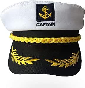 Ruier-hui Sailor Ship Barco Capitán Sombrero Yacht de Capitán ...