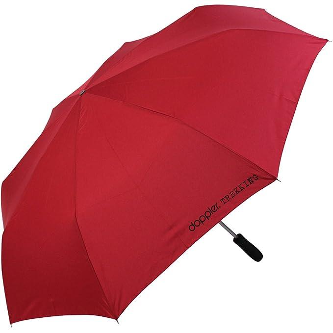 Doppler - Paraguas de bolsillo, XXL, color rojo: Amazon.es: Ropa y accesorios