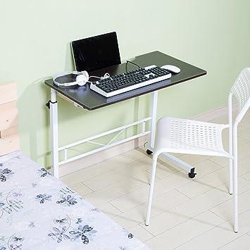 mesa plegable Doble Ascensor Escritorio de computadora Se Puede configurar para Mover Escritorio (Color : 3): Amazon.es: Hogar