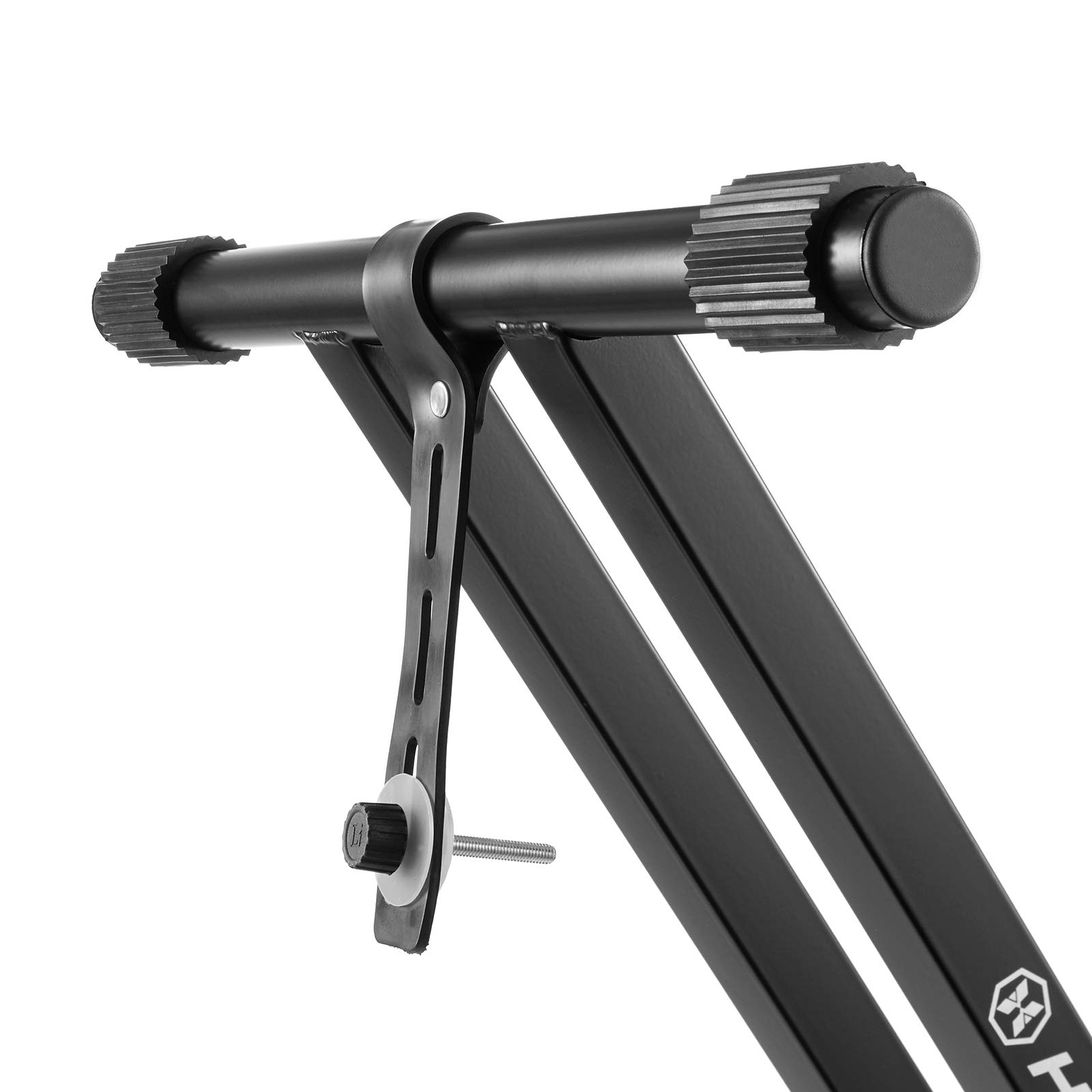 Hamzer Premium Heavy Duty Double Braced Adjustable X2 Style Music Piano Keyboard Stand by Hamzer (Image #7)