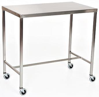 Amazon.com: Acero inoxidable instrumento mesa con h-brace 36 ...