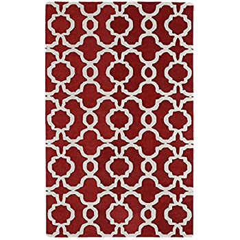 Amazon Com Kaleen Rugs Revolution Collection Rev02 25 Red